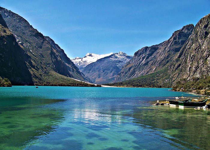 Treks Huaraz lake Llanganuco  and trail Maria Josefa Full day